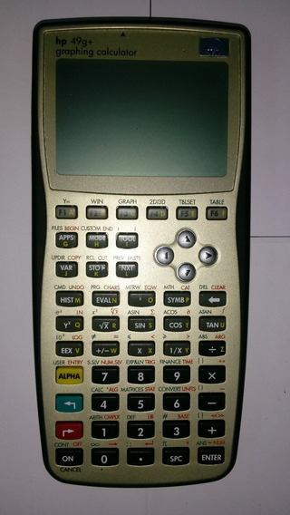 Calculadora Grafica Programable Hp49g+ Envio Gratis Domesa