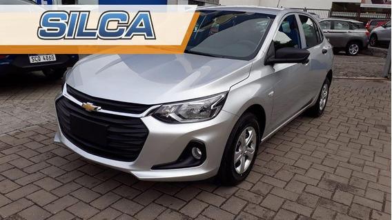Chevrolet Onix Ls 1.2 2020 Gris Plata 0km