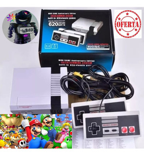 Consola Tipo Nintendo Clásico Con 620 Juegos Y 2 Palancas