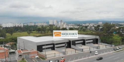 Barracão Para Alugar, 750 M² Por R$ 16.500,00/mês - Além Linha - Sorocaba/sp - Ba0113