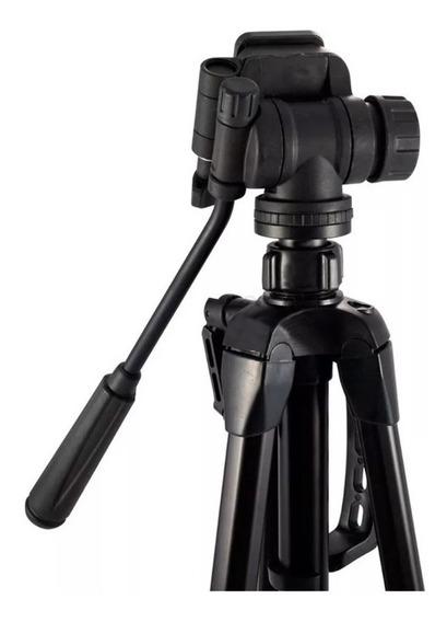 Tripé Universal Fotográfico Profissional Nikon Canon Wt 3716