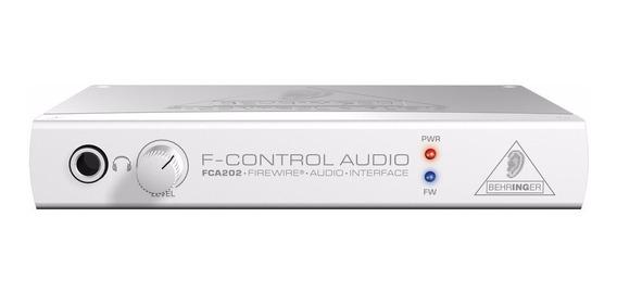 Interface Firewire Behringer F-control Audio Fca202 - Ac0067