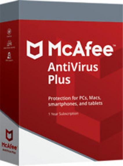 Mcafee Antivirus Plus 1 Ano 1 Pc .. Leia Com Atenção!