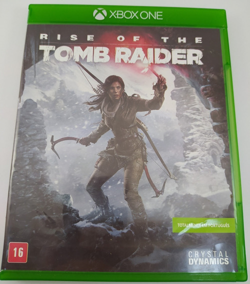 Tomb Raider Rise Of The Xbox One Mídia Física Usado