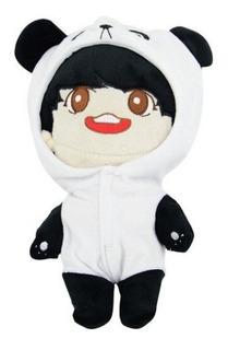 Doll Jungkook Muñeco Peluche Oso Panda Bts Bangtan Kpop