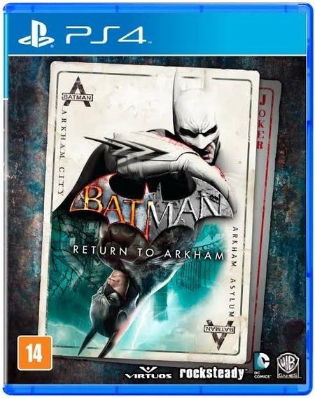 Jogo Ps4 Batman Return To Arkham - Lacrado - Game Ps4