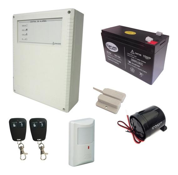Kit Seguridad Alarma Casa X-28 Completo Económico