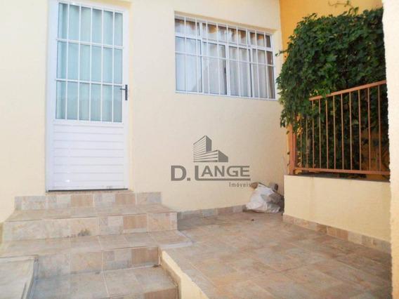 Casa Com 1 Dormitório Para Alugar, 60 M² Por R$ 1.000,00/mês - Jardim Nova Europa - Campinas/sp - Ca13291