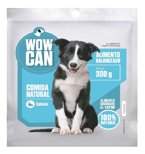 Pouch Wow Can Salmon 300 Gr