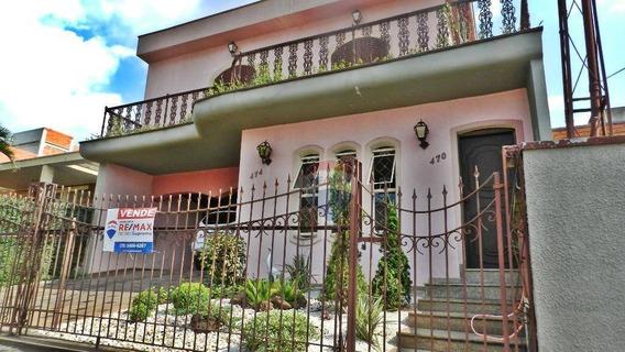 Casa Residencial/comercial No Jardim Girassol Em Americana/sp - So0057