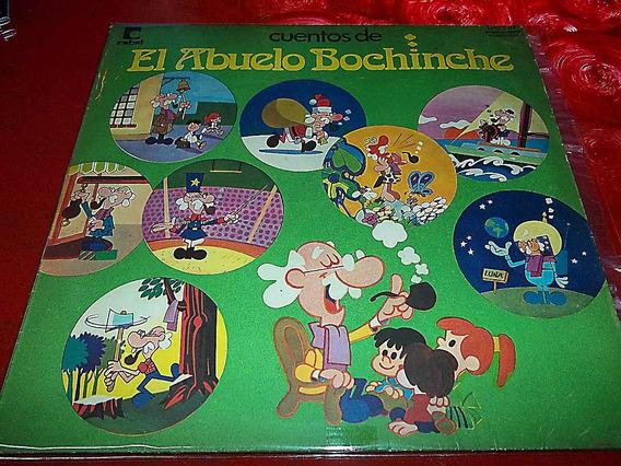 El Abuelo Bochinche - Disco Vinilo Infantil Tapa 8 Disco 9