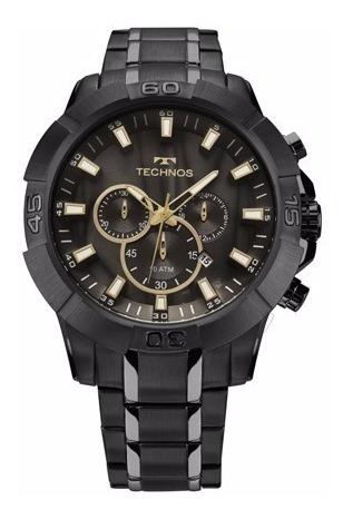 Relógio Masculino Technos Js26ag 4p Cronógrafo 10 Atm