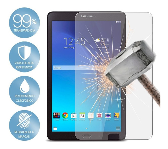 Película Vidro Temperado Samsung Galaxy Tab E 9.6 T560