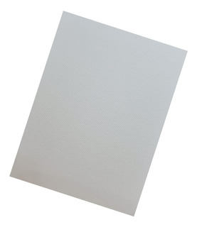 Opalina Texturada 120 Grs A4 X 20 Hojas Rives Design Blanco