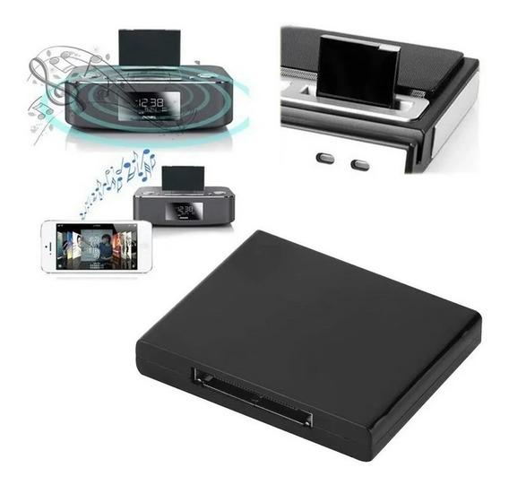 Adaptador Bluetooth 30 Pinos Para Dock iPhone - Novo C/ Nf-e