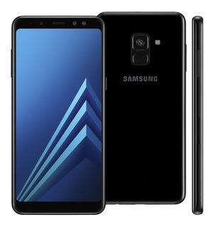 Samsung Galaxy A8 64gb (preto) Original 2018 Novo Lacrado