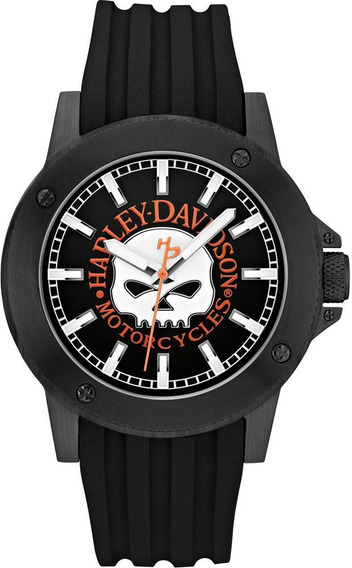 Relógio De Pulso Masculino Harley Davidson Wh30466p