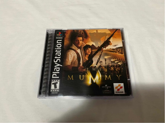 The Mummy Ps1 Completo Americano Original