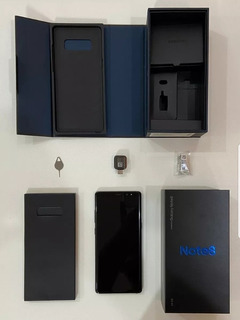 Celular Samsung Note 8 64gb Color Azul $25mil