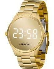 Relógio Lince Feminino Led Mdg4617lbxkx