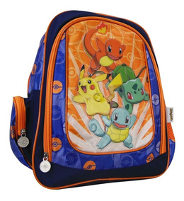 Mochila Pikachu Primaria Escolar Pokemon Niño 9063-1