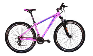 Bicicleta Mountain Bike Dama Venzo Skyline 26 Shimano 21 Vel