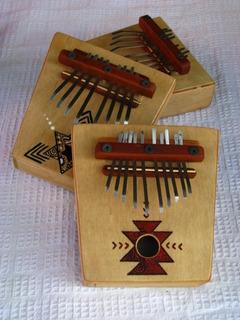 Kalimbas 8 Notas X10u Para Casas De Musica Y Regionales