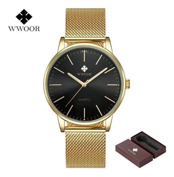 Relógio Wwoor Masculino Original Homem