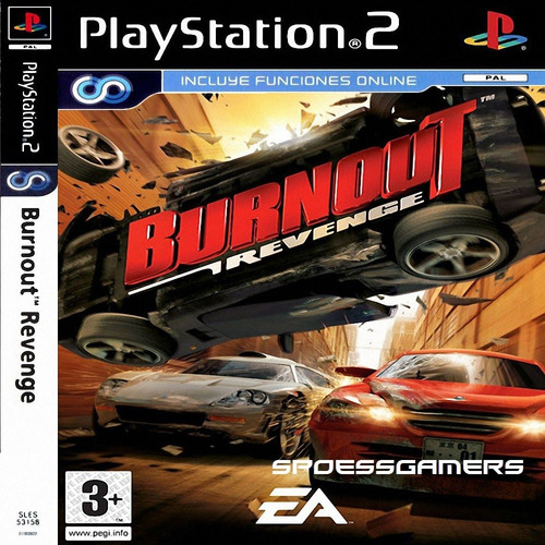 Burnout 4 Revenge ( Carros ) Ps2 Desbloqueado Patch