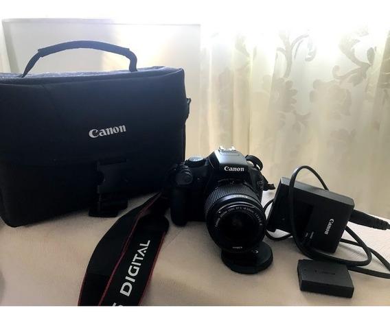Canon T3 - Menos De Mil Clicks Super Nova