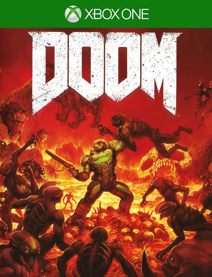 Doom Xbox One - 100% Original (25 Digitos)