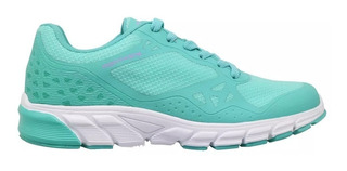 Zapatillas Running Montagne Accelerate Mujer Verde