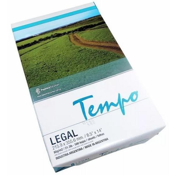 Resma Tempo Legal 80g Consulta Envio Int - Envio Gratis Caba