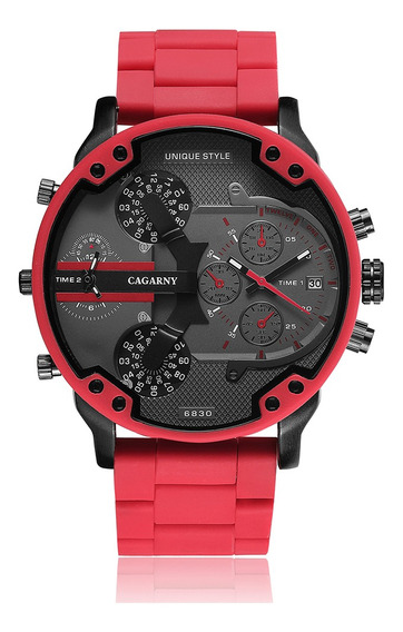 Reloj Skemi 6830 Cuarzo De Moda Deportivo Casual P/hombre