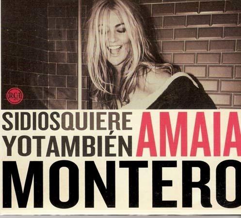 Cd - Si Dios Quiere Yo Tambien - Amaia Montero