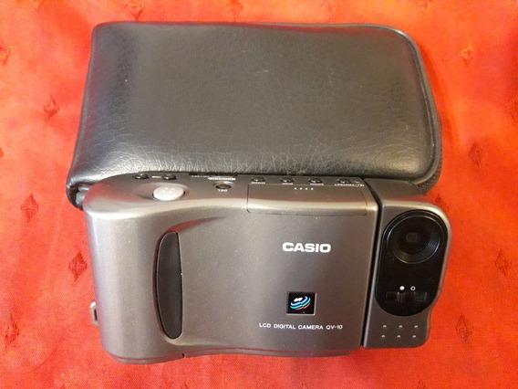 Camara Casio Modelo Qv-10b La Pionera Digital Pantalla Lcd!!