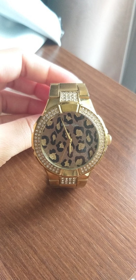 Relógio Dourado Planet Girls