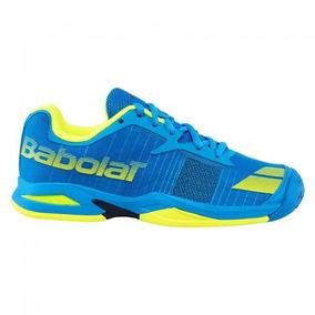 Tênis Babolat Jet Team All Court - Azul/amarelo