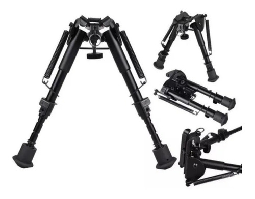Imagem 1 de 8 de Bipé BiPod Universal Retráti Tático Sniper Carabina Airsoft