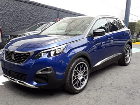 Peugeot 3008 Gt Line At Color Azul 2018