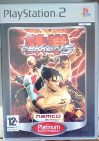 Jogo Ps2 Playstation 2 Tekken 5 Completo 100% Original - Pal