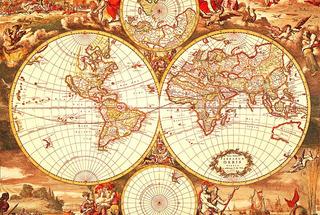 Puzzle Rompecabezas Tomax Mapamundi Antiguo 1000 Piezas