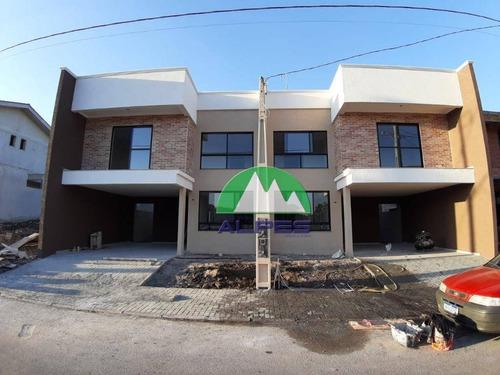 Sobrado Com 3 Dormitórios À Venda, 128 M² Por R$ 550.000,00 - Costeira - São José Dos Pinhais/pr - So1069