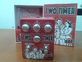 Pedal Bbe Two Timer Delay (2 Delays Em 1 Pedal) Seminovo!