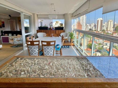 Imagem 1 de 30 de Belíssimo Apartamento Com 3 Dormitórios À Venda, 198 M² - Vila Mariana - São Paulo/sp - Ap9408