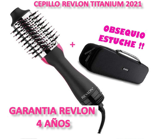 Cepillo Original Revlon Titanium Max Con Estuche Modelo 2021