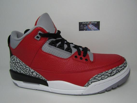 Air Jordan 3 Unite Red Cement Limited (28 Mex) Astroboyshop