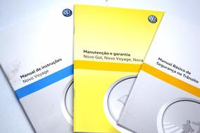 Manual Do Proprietário Do Voyage Original Vw - 5u4012766rg