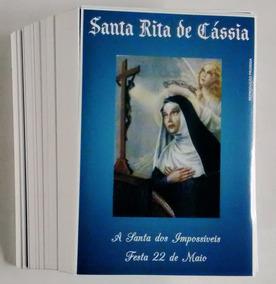Milheiro Santinho Santa Rita De Cássia Oração De Promessa