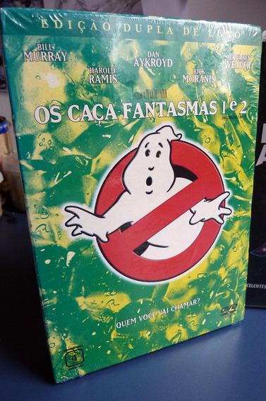 Ghostbusters Dvd Box 2 Filme Anos 80 Selado Edição Coleção V